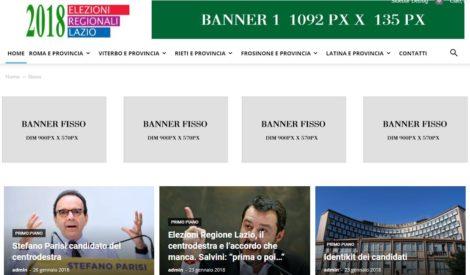 ELEZIONI POLITICHE 2018 e ELEZIONI REGIONALI LAZIO 2018 le piattaforme cross-mediali per le elezioni in tempo reale